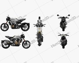 Husqvarna Vitpilen 701 2019 Motorcycle clipart