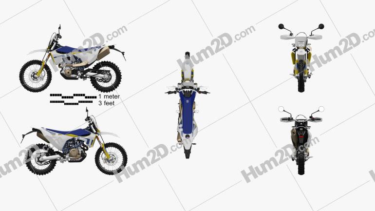 Husqvarna 701 Enduro 2020 Clipart Image