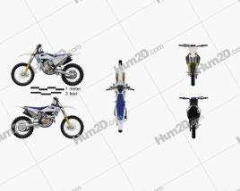 Husqvarna FC 350 2020 Motorcycle clipart