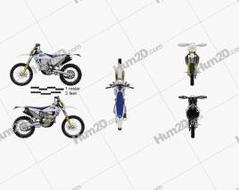 Husqvarna FE 250 2020 Motorcycle clipart