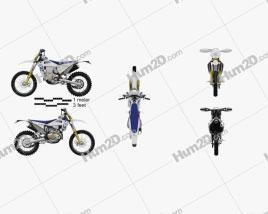 Husqvarna FE 501 2020 Motorcycle clipart