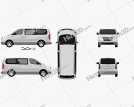 Hyundai Starex clipart