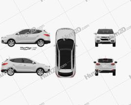 Hyundai ix35 Tucson car clipart