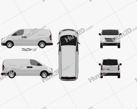 Hyundai H1 iLoad 2010 clipart