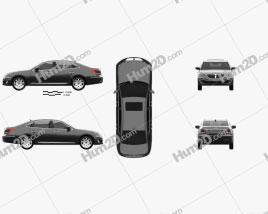 Hyundai Equus 2012 car clipart