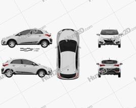 Hyundai HB20X 2013 car clipart
