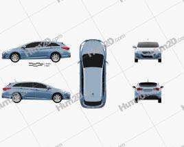 Hyundai i40 Tourer EU 2012
