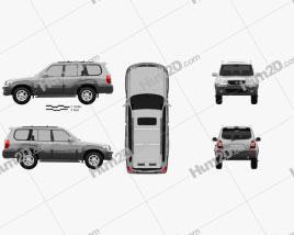 Hyundai Terracan 2004 car clipart