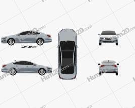 Hyundai AG (Aslan) 2014 car clipart