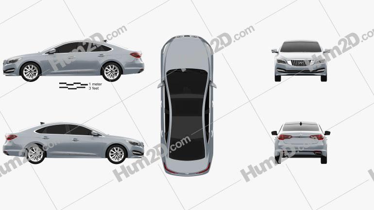 Hyundai AG (Aslan) 2014 Clipart Image
