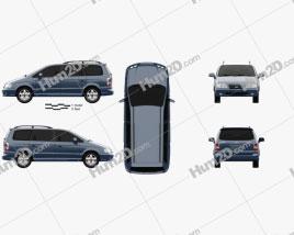 Hyundai Trajet 2004 clipart