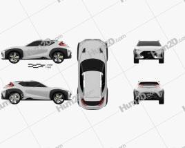 Hyundai Enduro 2015 car clipart