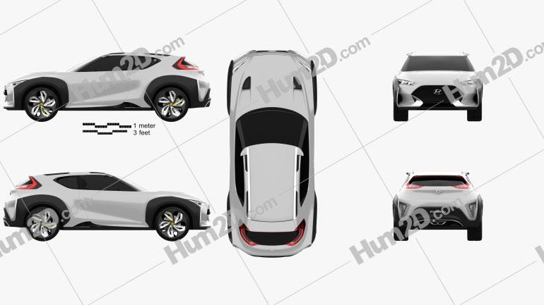 Hyundai Enduro 2015 Clipart Image