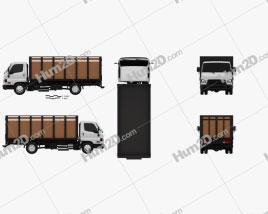 Hyundai HD65 Flatbed Truck 2012