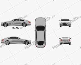 Hyundai Vision G 2015 car clipart