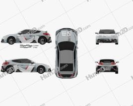 Hyundai RM16 2016 car clipart
