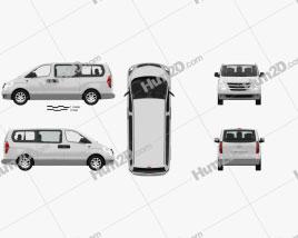 Hyundai iMax mit HD Innenraum 2010 clipart
