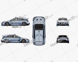 Hyundai RN30 2016 car clipart