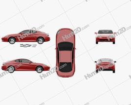 Hyundai Coupe GK 2007 car clipart