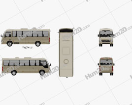 Hyundai County Bus 2018