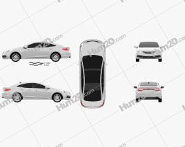Hyundai Grandeur 2014 car clipart