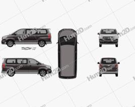 Hyundai Grand Starex 2018 clipart