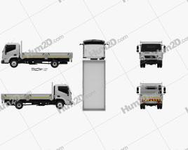 Hyundai Mighty EX8 Flatbed Truck 2018