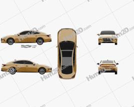 Hyundai Sonata 2020 car clipart