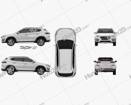 Hyundai Tucson 2018 Clipart