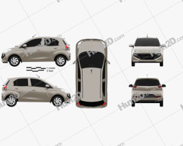 Hyundai Santro Asta 2018 Clipart