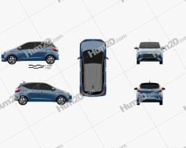 Hyundai i10 2019 Clipart