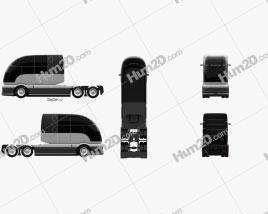 Hyundai HDC-6 Neptune Tractor Truck 2019