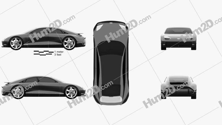 Hyundai Prophecy 2020 Clipart Image