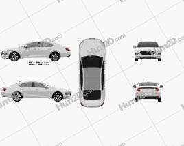 Hyundai Mistra 2020 car clipart