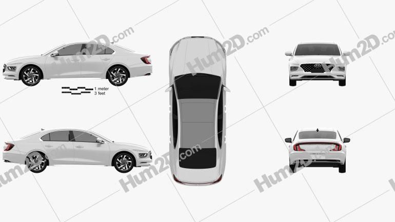 Hyundai Mistra 2020 Clipart Image