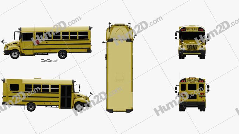 IC BE School Bus 2012