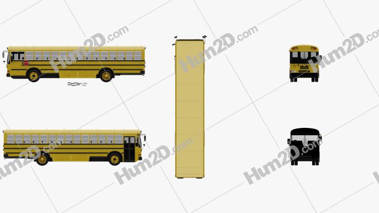IC FE School Bus 2006