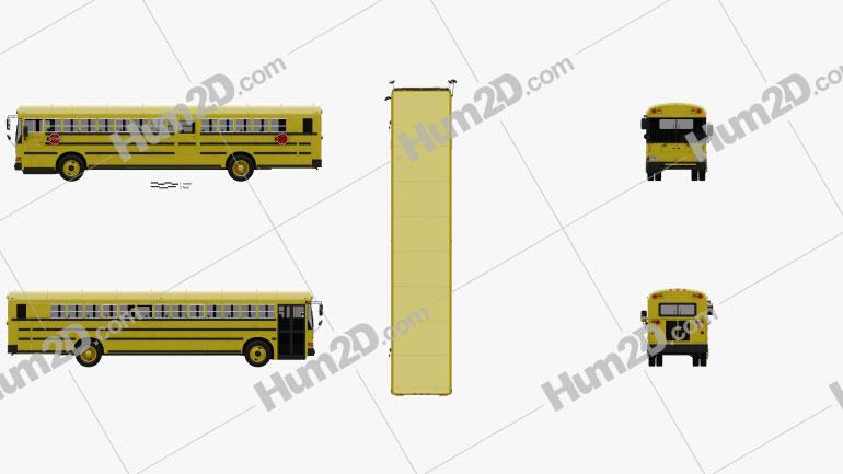 IC RE School Bus 2008
