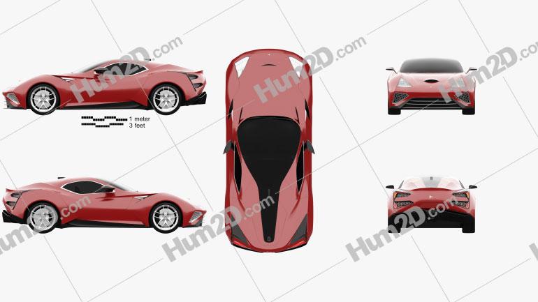 Icona Vulcano 2013 car clipart
