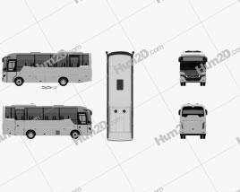 Indcar Next L8 MB Bus 2017
