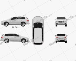Infiniti QX60 (JX) 2013 car clipart