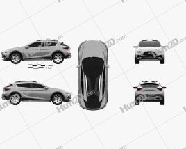 Infiniti QX30 Concept 2015