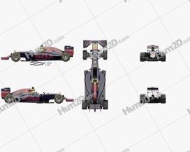 Infiniti RB12 F1 2016