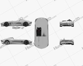 Infiniti Prototype 10 2018 car clipart