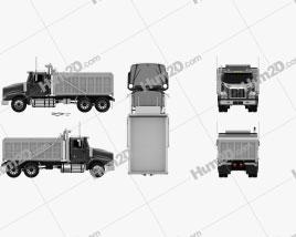 International Paystar Dump Truck 2002