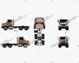 International Transtar Tractor Truck 2002