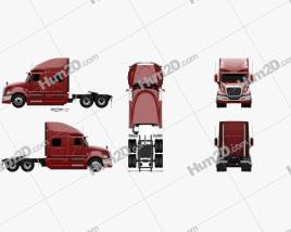 International ProStar Tractor Truck 2009