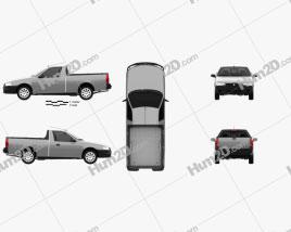 Iran Khodro Arisun 2015 car clipart