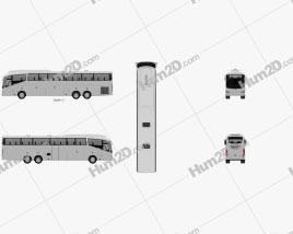 Irizar i6 Bus 2010 clipart