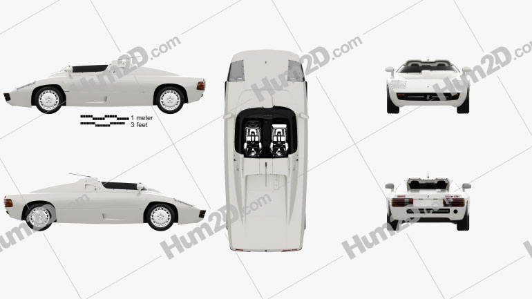 Isdera Spyder 036i 1988